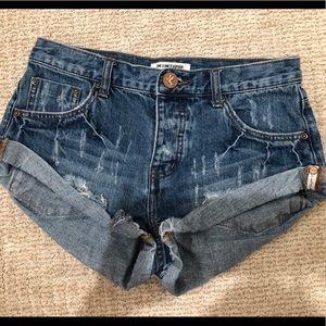 One Teaspoon Cut Off Shorts